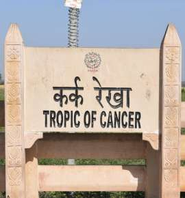 #SummerBucketlist: Follow the Tropic of Cancer Across India