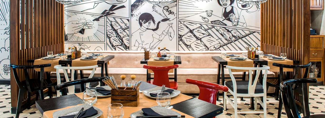 Manga Comes Alive And Cooks You A Feast At This New Delhi Restaurant