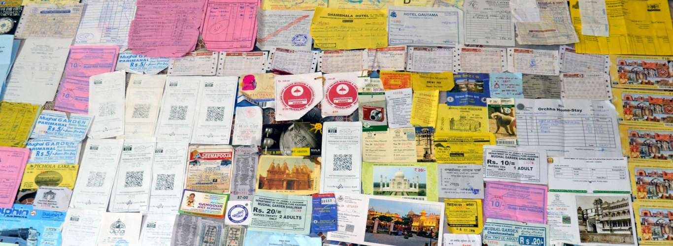 My Travel Tickets: On a Nostalgia Ride