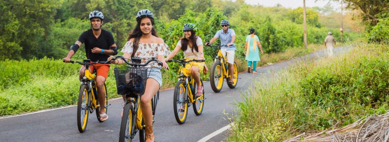 Have A Wheel Of A Time On E-Bicycles In Goa