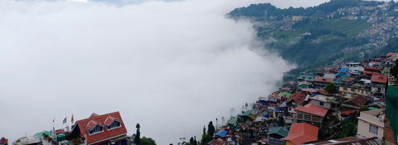 It is A for Art in Kalimpong