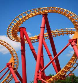 Five Scariest Roller Coasters In The World