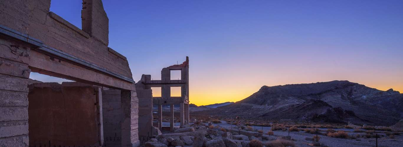 How A Town Was Lost: Rhyolite