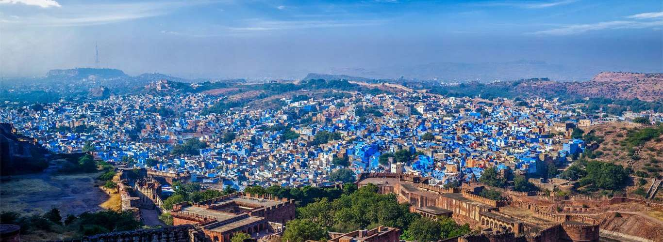 Experience 24 Hours In The Blue City