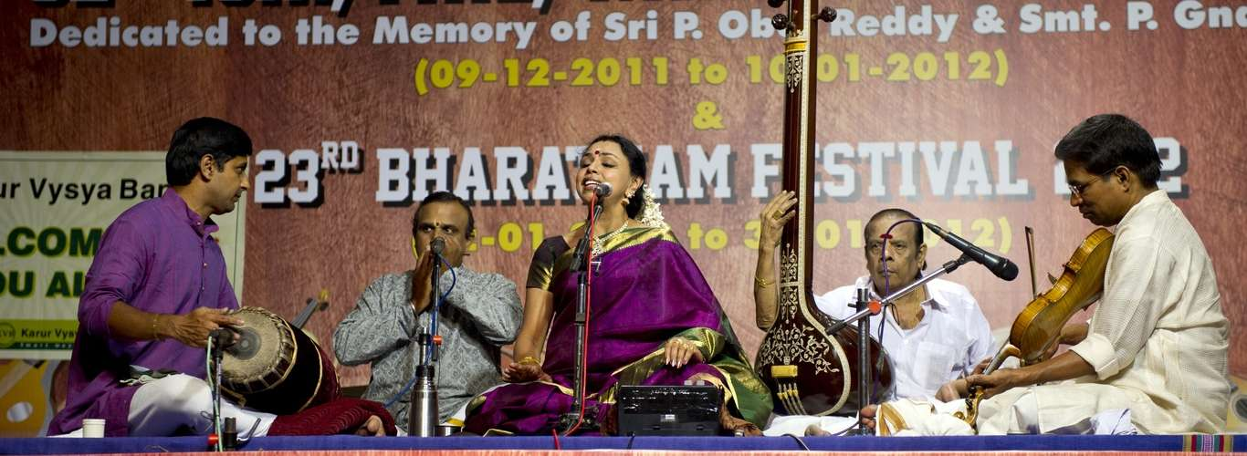 5 Carnatic Music Festivals That You Should Not Miss