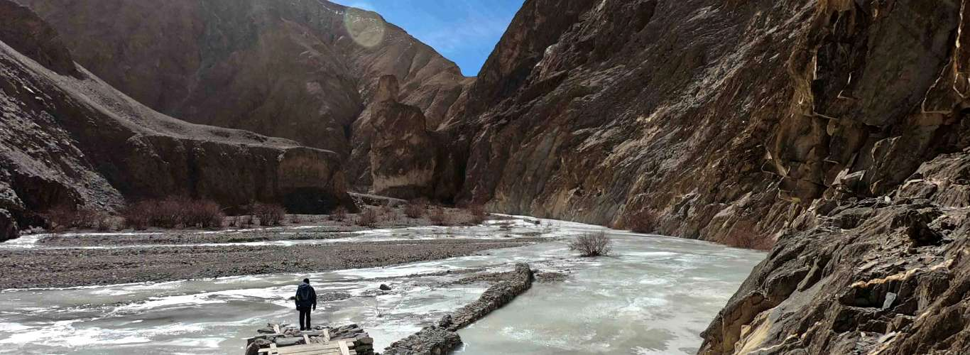 A Winter Ascent of Kang Yatse II in Markha Valley