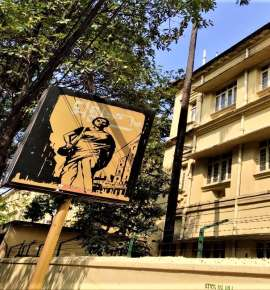 This Street in Kolkata is Like a Gallery of Satyajit Ray's Art