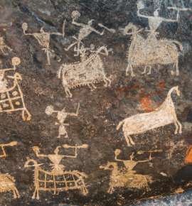 A Cave Art Trail Around India
