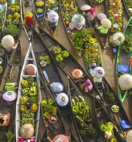 A Quick Peek: Floatings Markets Around The World