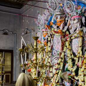 Have You Seen Durga Puja At a Bonedi Bari?