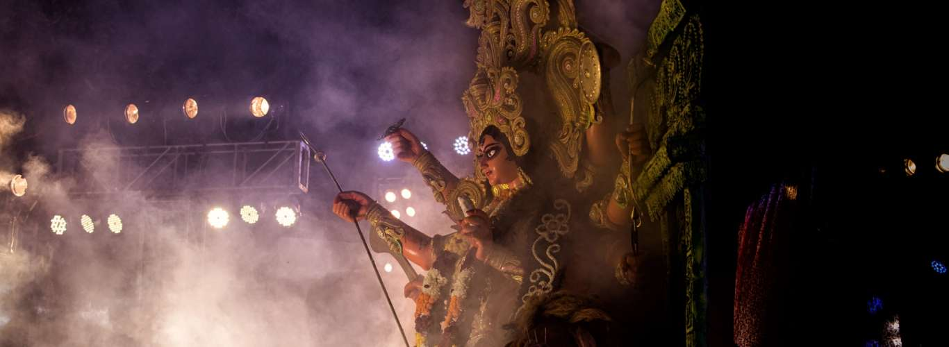 In Pictures: Pujo Carnival In Kolkata