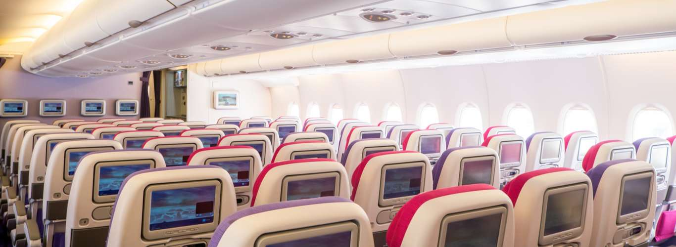 In Photos: Passengers Share Photos of their Empty Planes