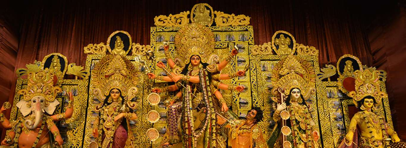 In Pictures: Pujo Protimas In West Bengal