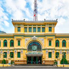 In Pictures: The Extraordinary Saigon Post Office