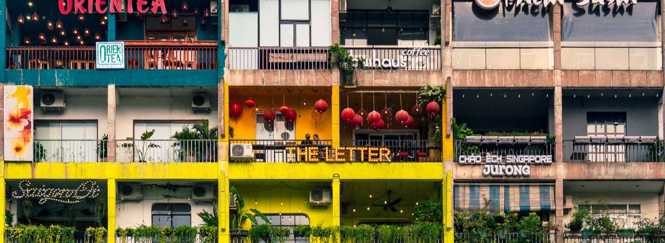 #CoolSpotting: This Saigon Apartment Block is All About Cafes