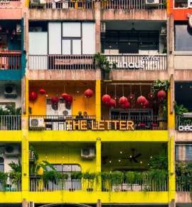 #CoolSpotting: This Apartment Block is All About Cafes