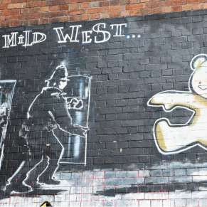 Locate Banksy's Street Art Through Map and Google Street View
