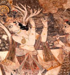 In Pictures: The Painterly Interiors of Orchha's Lakshmi Temple
