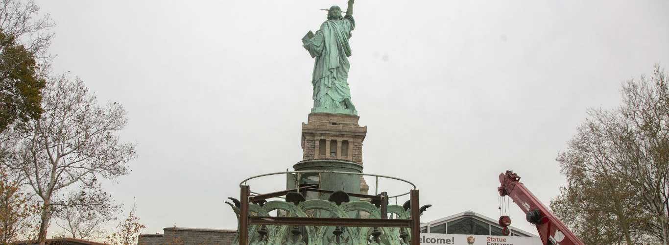 Inside The Statue of Liberty Museum