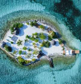 A Fortress of Luxury in the Maldives