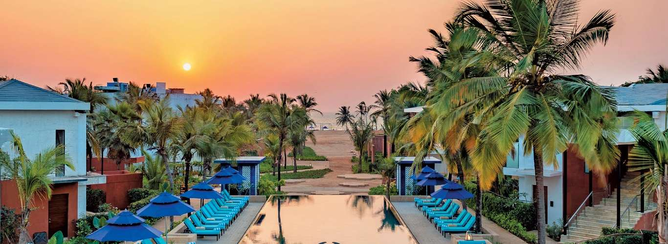 A Beach Of A Time At Azaya Beach Resort In Goa