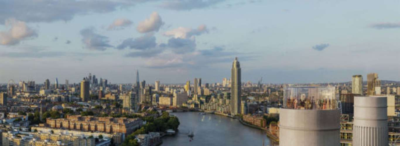 Take in the Breathtaking View of London's Skyline in a Glass Elevator