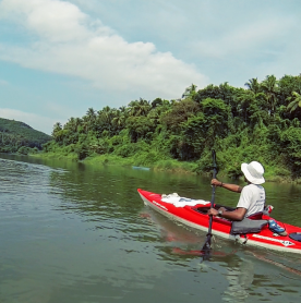 Chaliyar River Paddle 2021 Urges All to Go Plastic Negative