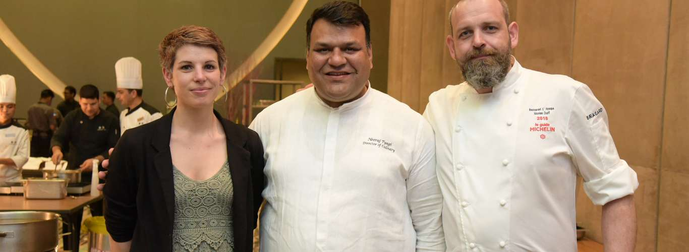 Michelin-Star Chef Nicolas Durif Spills the Beans About His First Time in India