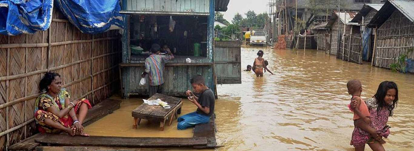 Fighting the Flood Situation in Nagaland