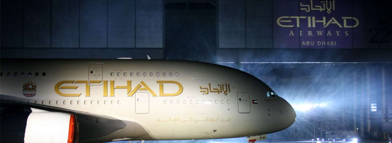 Etihad gets into Code Sharing Deal with New Airline
