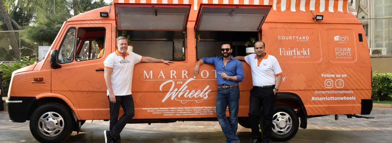 Watch Out: Marriott Revs Up A New Food Truck In India