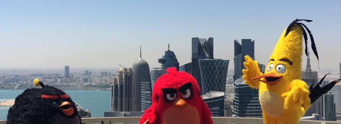 World's First Angry Birds Theme Park Opens In Doha