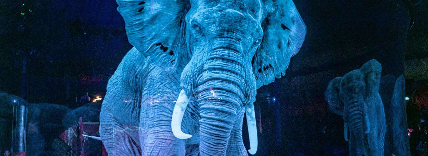 German Circus Says No to Cruelty with Holographic Animals