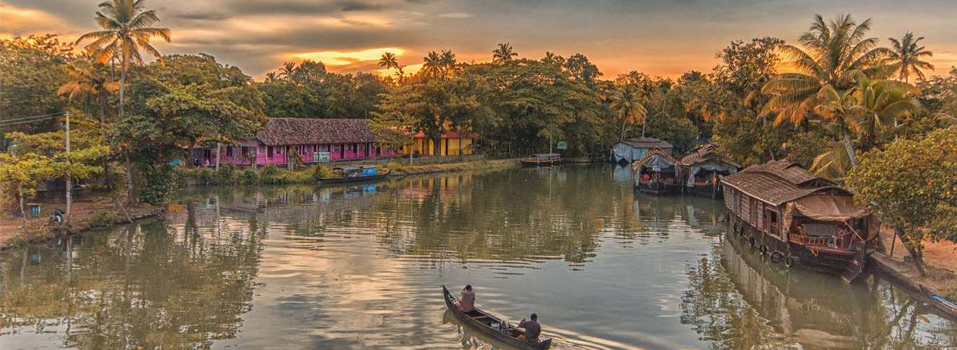 Water Taxi Launched in Kerala Backwaters
