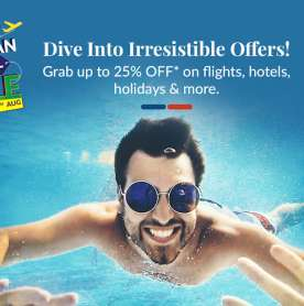 MakeMyTrip's Great Indian Travel Sale - Great Deals to Grab!