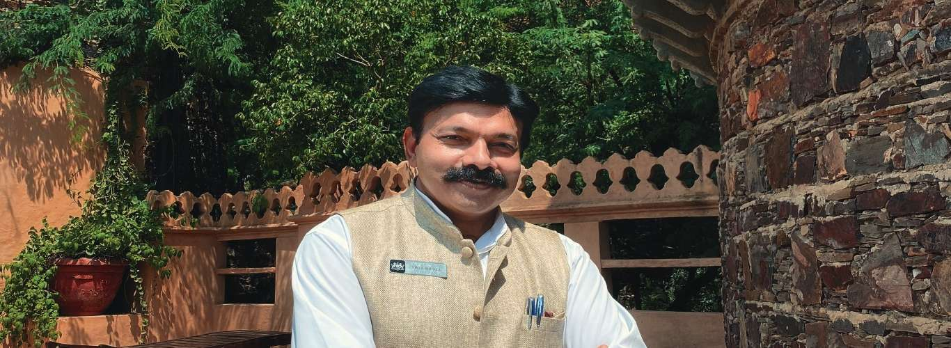 Meet The General Manager: Neemrana Fort Palace's Vivek Shukla