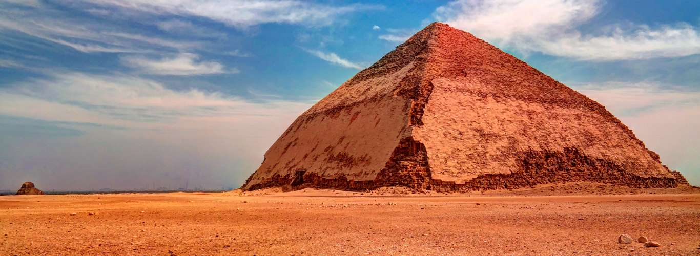 Egypt's Bent Pyramid is Now Open to Public