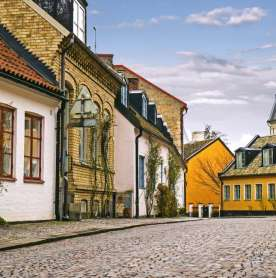 This Entire Swedish Village is Up for Sale