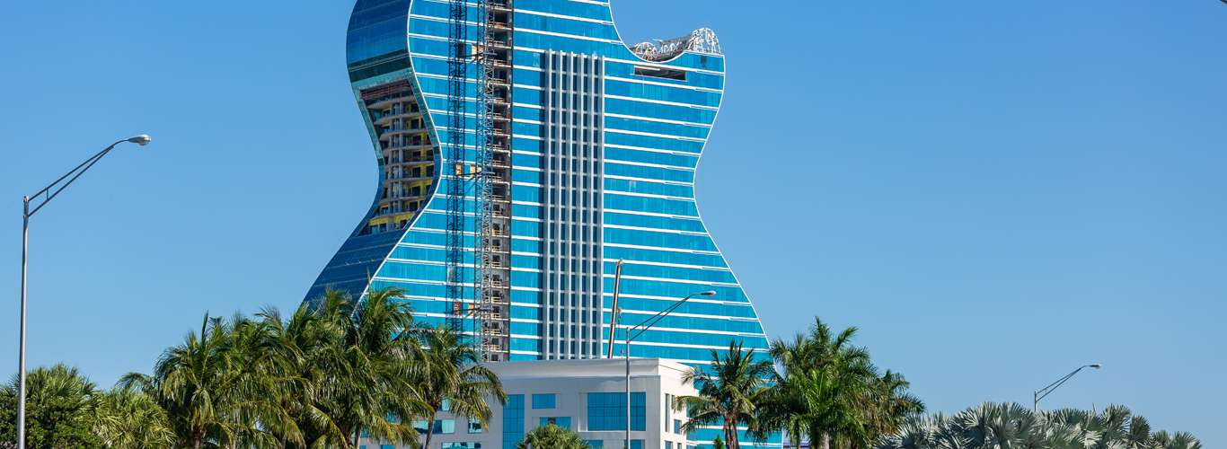 A Guitar-Shaped Hotel to Grace Florida