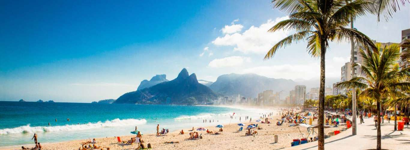 Brazilians Hit the Beach for a Freedom Song