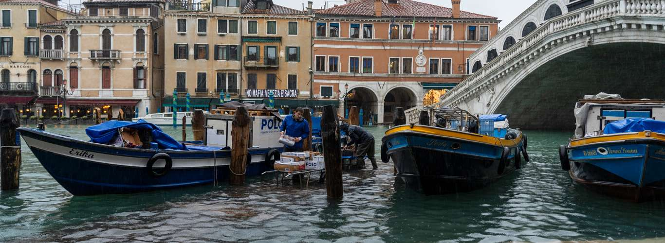 Worst Floods in 50 Years Hit Venice