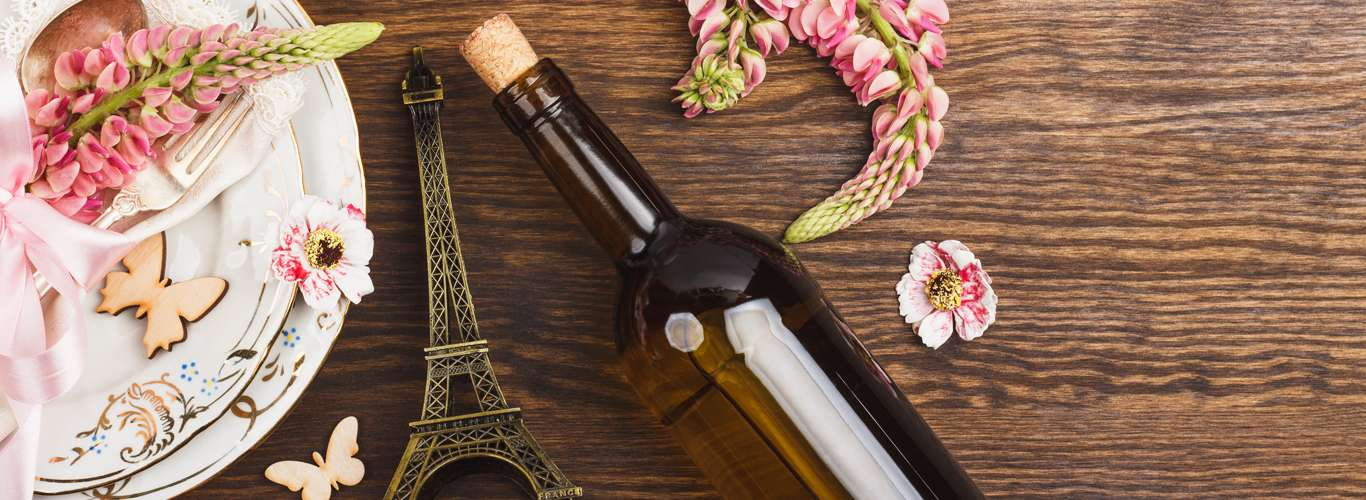 Enjoy The Eiffel With A Glass Of Their Wine