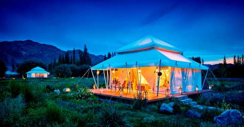 Glamping At The Height Of Luxury