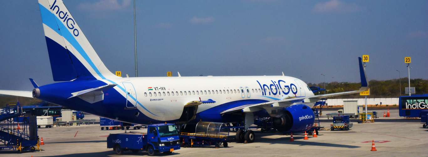 Indigo Airlines will Charge Rs100 for Airport Check-Ins