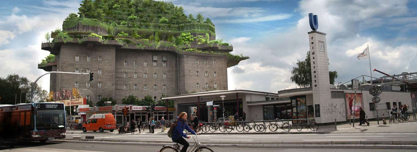 A Former Nazi Air Raid Shelter To Open As A Hotel In Hamburg