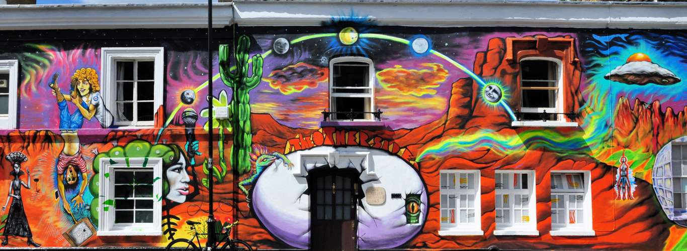 Check out the First Ever London Mural Festival