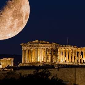 Parthenon Would Have Looked Like This in its Heyday