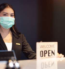 As Travel Halts, Hotels Turn Hospitals