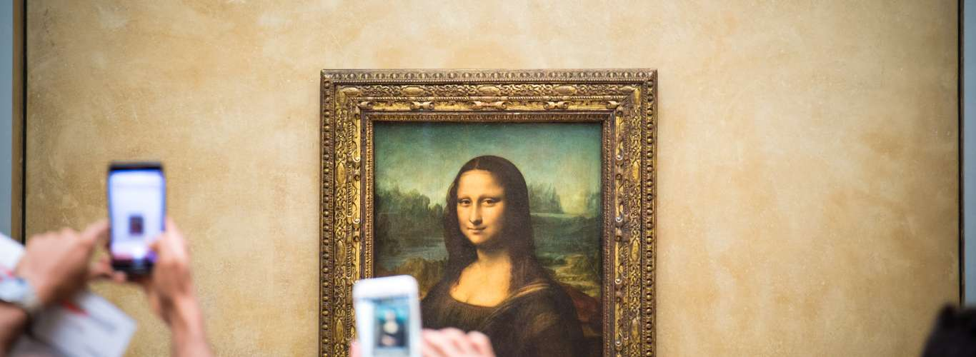 Up Close and Personal with Mona Lisa