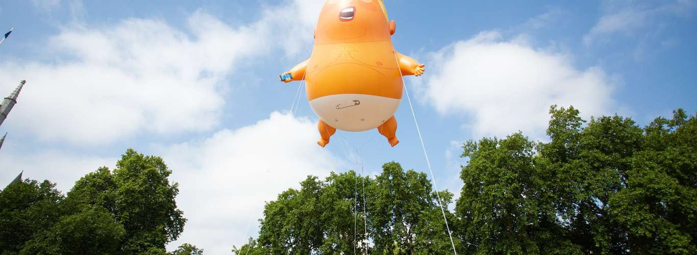 The Trump Baby Balloon will be Displayed at Museum of London